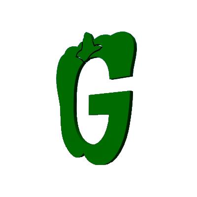 псевдообъемные буквы плоские